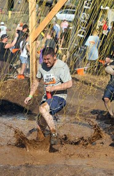 Ray Hom at Tough Mudder
