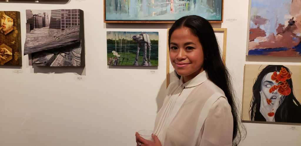 Karla's Kreation Art Featured at Palette Gallery in San Francisco