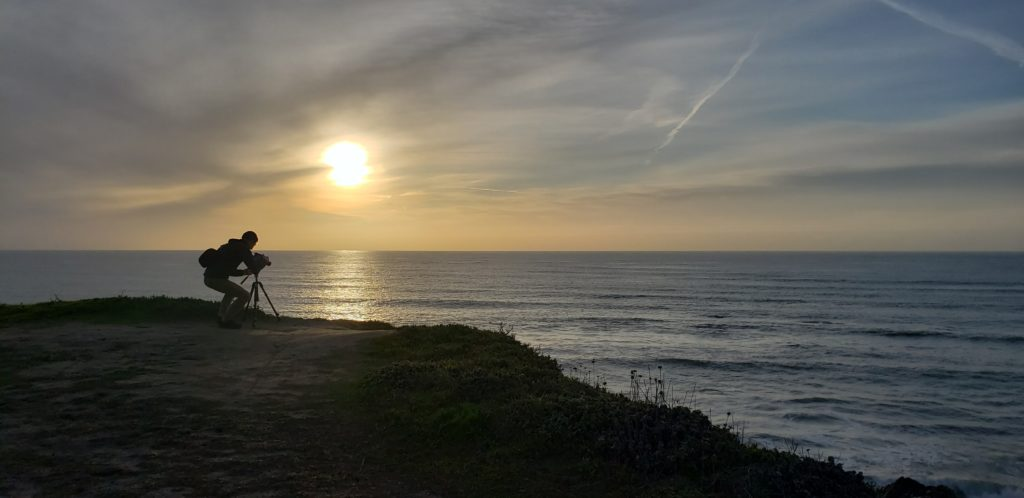H2Video and the Half Moon Bay Beach