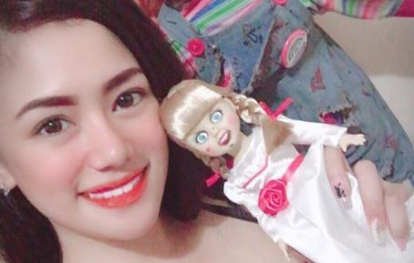 Annabelle and Playmate Barbie Takei…